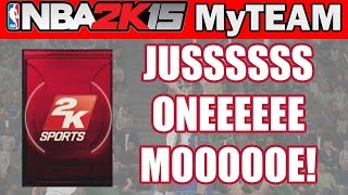 Pack Opening NBA 2K15 My Team - JUSSSS ONE MOOOE! | 2k15 Pack Opening