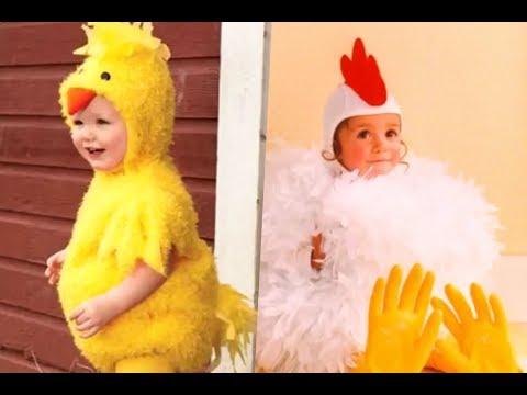 Disfraces de pollo para niños