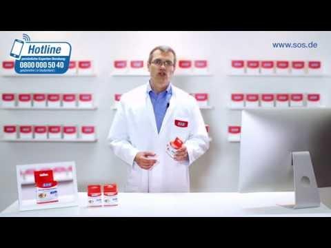 SOS Allergie-Augentropfen  zur effektiven Behandlung allergischer Augenbeschwerden