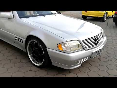 Video Mercedes-Benz SL 320 Roadster, Mille Miglia,Klimaaut.Kein Import