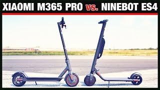 XIAOMI M365 PRO vs. NINEBOT ES4, der ultimative Vergleich! Escooter, Eroller, Test (DEU-GER)