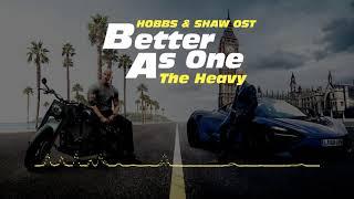 분노의 질주: 홉스&쇼(2019) OST : Better As One.FLAC  Hobbs & Shaw(2019) OST