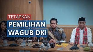Panlih Tetapkan Ahmad Riza Patria dan Nurmansjah Lubis Melenggang ke Paripurna Pemilihan Wagub DKI