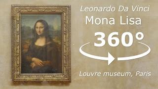 Mona Lisa 360° Tour Louvre museum Paris