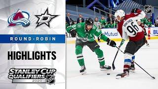 NHL Highlights | Avalanche @ Stars, Round Robin - Aug. 5, 2020
