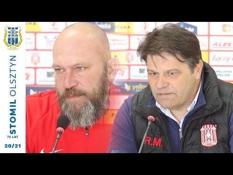 Trenerzy po meczu Resovia - Stomil Olsztyn 1:0