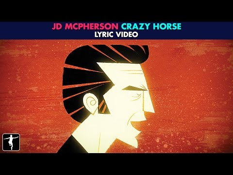 JD McPherson - Crazy Horse Lyric Video - The Mr. Peabody & Sherman Show (Official Video)