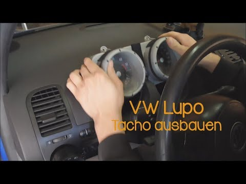 VW Lupo Tacho ausbauen