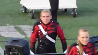 Marching Band Girl Really Feeling It