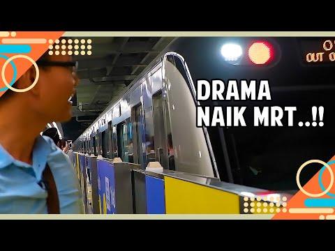 Naik MRT Jakarta Yang Anti Norak