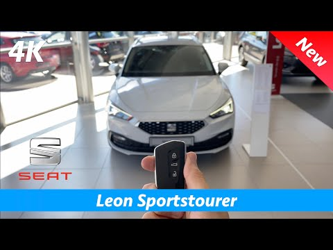 Seat Leon Sportstourer Xcellence 2020 - First FULL in-depth review in 4K | Interior - Exterior