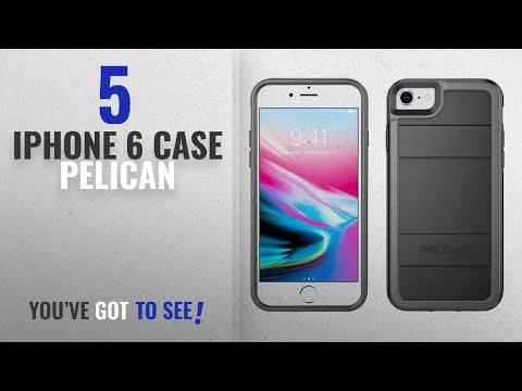 Top 5 IPhone 6 Case Pelican [2018 Best Sellers]: Pelican iPhone Case - fits iPhone 8, iPhone 7,