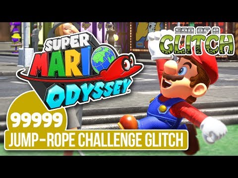 Super Mario Odyssey Has An Insane Jump Rope Glitch