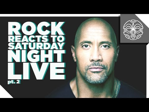 The Rock Reacts to his FavoriteSketches from Saturday Night Live: PART 2