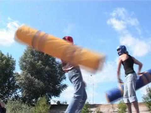 "Відео Атракціон-змагання ""Гладіатор"" 1"