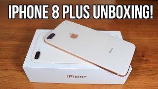 Unboxing iPhone 8 Plus | Gold 256GB