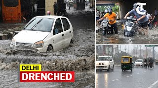 Delhi rains: Heaviest spell this monsoon - Download this Video in MP3, M4A, WEBM, MP4, 3GP