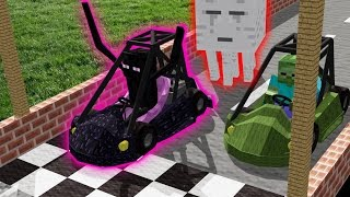 Monster School: Swimming | Brewing | Car Racing | Boys vs. Girls | (Monster School Compilation)