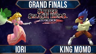 SSS - Iori (Peach) Vs MVG|King Momo (Falco) - Melee Grand Finals