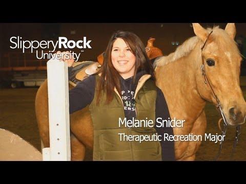 Recreational Therapy | Slippery Rock University