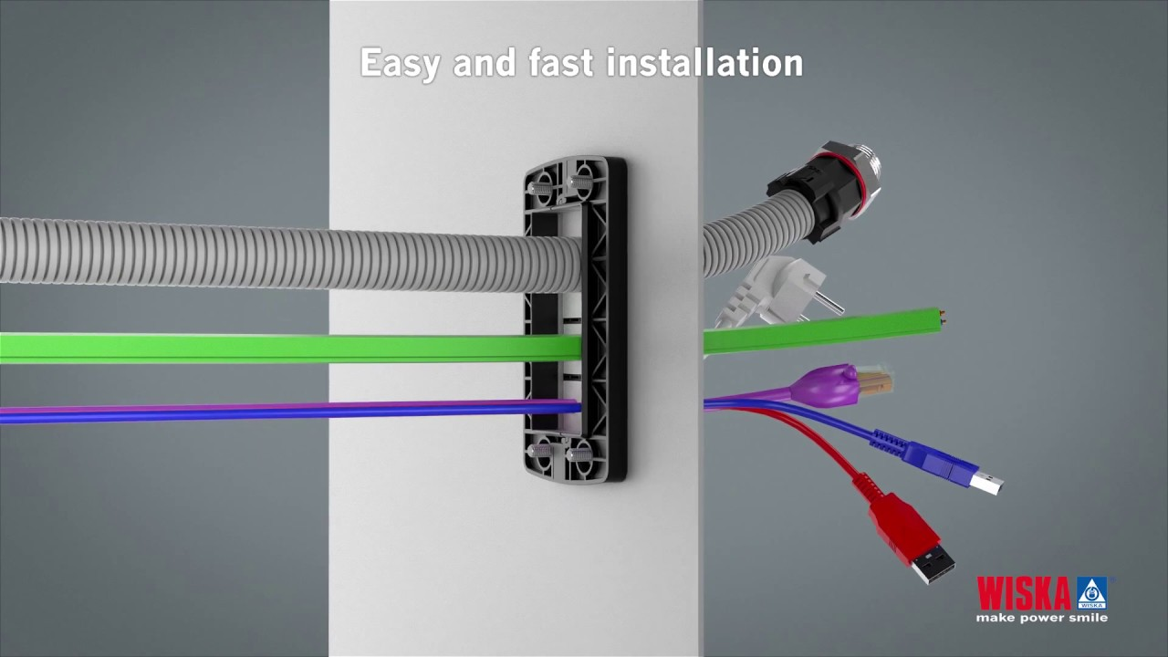 CONMAXX - Cable entry system and divided retrofit gland