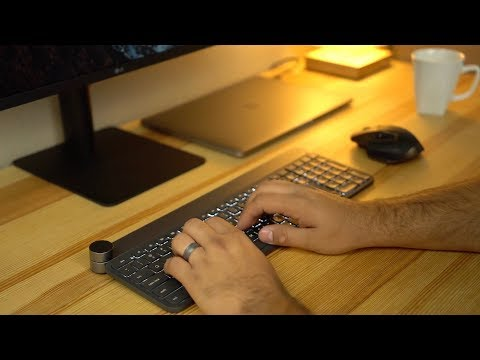 Review: Logitech Craft Keyboard with Creative Input Dial