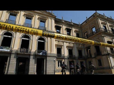 Δάκρυα και απόγνωση για το Εθνικό Μουσείο του Ρίο ντε Ζανέιρο…