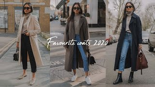 MOST WORN WINTER COATS | LOOKBOOK 2020