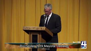 Rochester City Mayoral Candidate Debates LIVE @ Rochester High School - 5-2-19