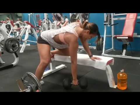 Dumbbell Rows Bent Over Lateral Raise