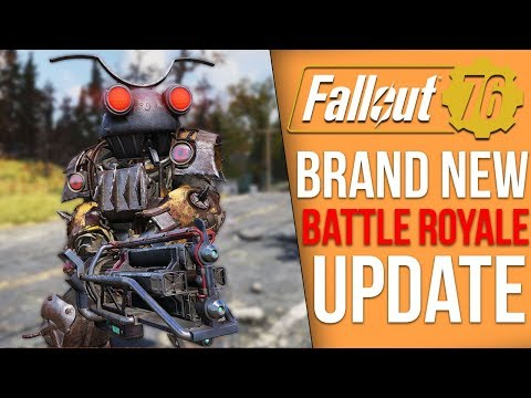 Fallout 76's New 3GB Battle Royale Update