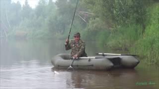 Сплав и рыбалка по малым рекам сибири