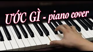 Ước Gì (Võ Thiện Thanh) - Piano Cover by Quốc Đạt Pianist