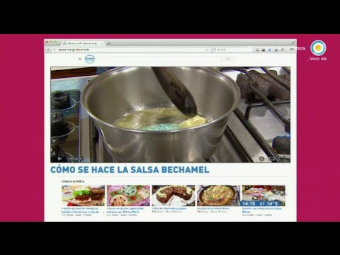 Cómo hacer salsa bechamel