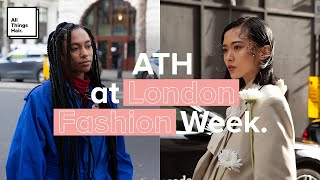 All Things Hair at London Fashion Week AW20 | Street Style Highlights