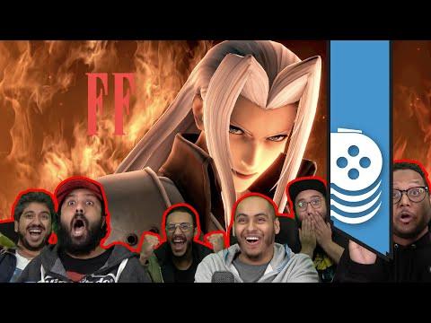 نلعب تحدي Sephiroth في سماش وبعدها نلعب بالشخصية
