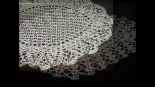 Doilies Crochet Video