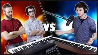 INSANE PIANO BATTLE - Marcus Veltri vs. Frank & Zach