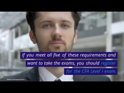 CFA Exam Requirements: How to Qualify to Sit for the CFA Exams ...