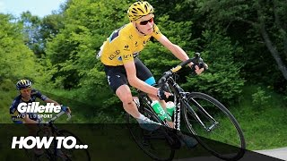 How to Climb a mountain with Chris Froome & Team SKY | Gillette World Sport - dooclip.me