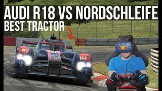 How Fast Can The Audi R18 'Tractor' Lap The Nordschleife?