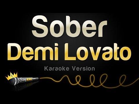Demi Lovato - Sober (Karaoke Version)