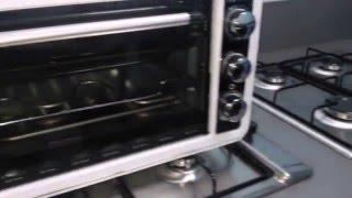 """Печь электрическая Saturn ST-EC 1075 (объем 36 л) от компании Компания """"TECHNOVA"""" - видео"""