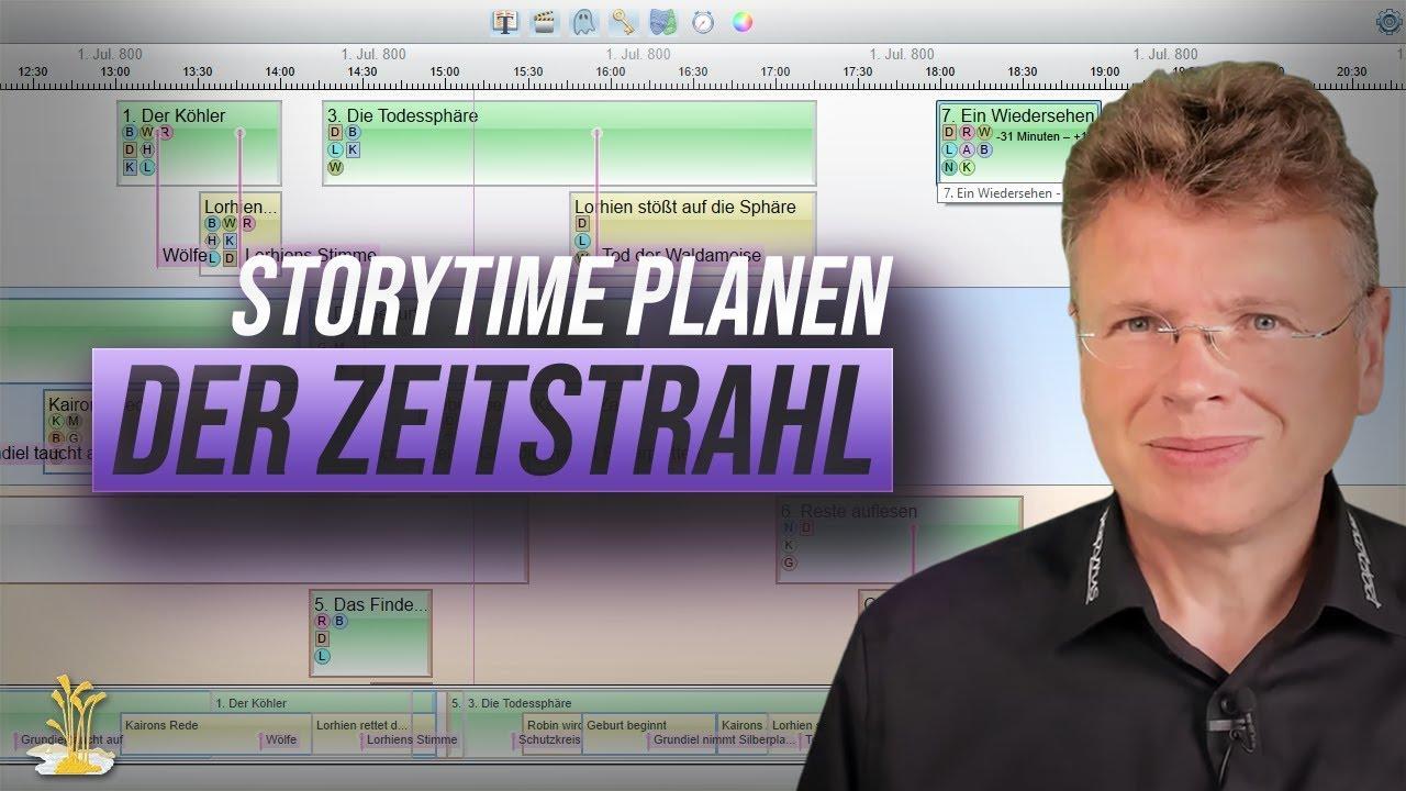 Mit dem Zeitstrahl von Papyrus Autor einen Storyablauf planen (Teil 2)
