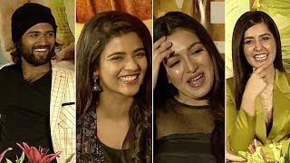 World Famous Lover Movie Team Hilarious Interview | Vijay Devarakonda | Raashi Khanna | Manastars