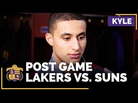 Kyle Kuzma On Career-Highs, Lakers 'Unacceptable' Defense