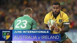 Test match, highlights Australia-Irlanda