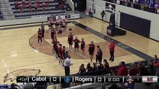 6A State Girls - Cabot vs Rogers - 2/28/19