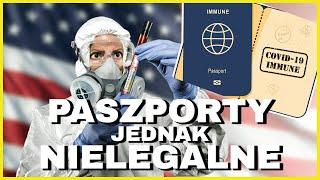 Paszporty COVIDowe jednak NIELEGALNE w USA