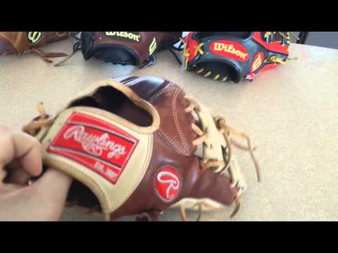 My top 5 baseball gloves